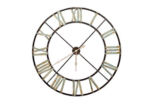 Large Iron Skeleton Clock