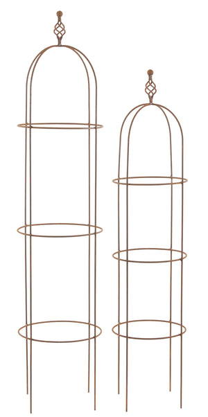 Set of 2 RR Round Obelisks