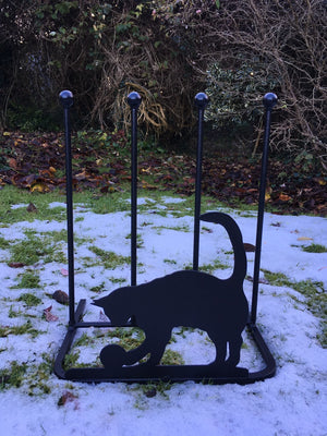 Black Cat Boot Rack