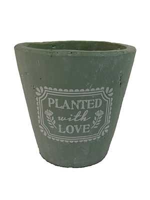 Planted With Love Pot