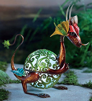Solar Light Dragon Ornament