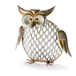Ornate Metal Owl