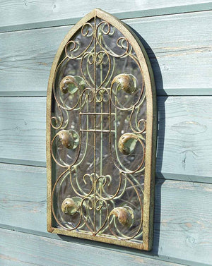 Ornate Arched Mirror