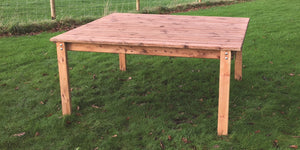 4 Seat Square Dining Table