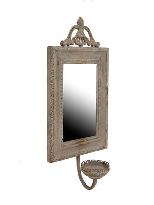 Cahors Mirror with Candle Holder