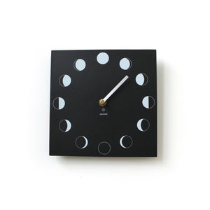 Eco Recycled Moon Phase Clock