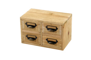 Storage Drawers (4 Drawers) 25 x 15 x 16cm
