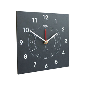 Time And Tide Clock made from Recycled Plastic