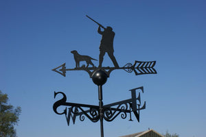 Shooting Scene Weathervane