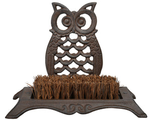 Owl Boot-brush