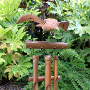 Coconut Blackbird Windchimes