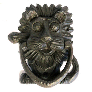 Cast Iron Lion Knocker