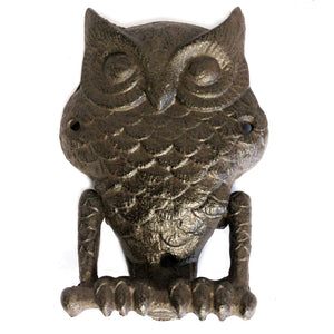 Cast Iron Owl Knocker