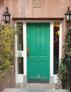 Out Of The Ordinary Bright Green Door
