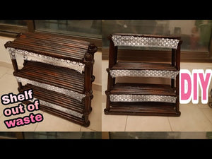 newspaperscrafts How To Make A Shelf| DIY Newspapers Shelf Idea | Kitchen Organizer: Hi,I hope you will like the video.If you find any mistakes in video , I am ...