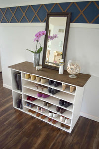 A proper shoe storage system is a must for every home, whether you have a big collection or just a few pairs