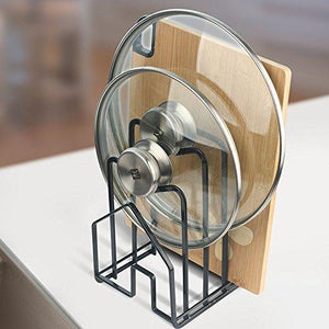 Selection multifunctionpot lid shelf holder kitchen bakeware cover rack stand cutting board stand pan cover storage shelf