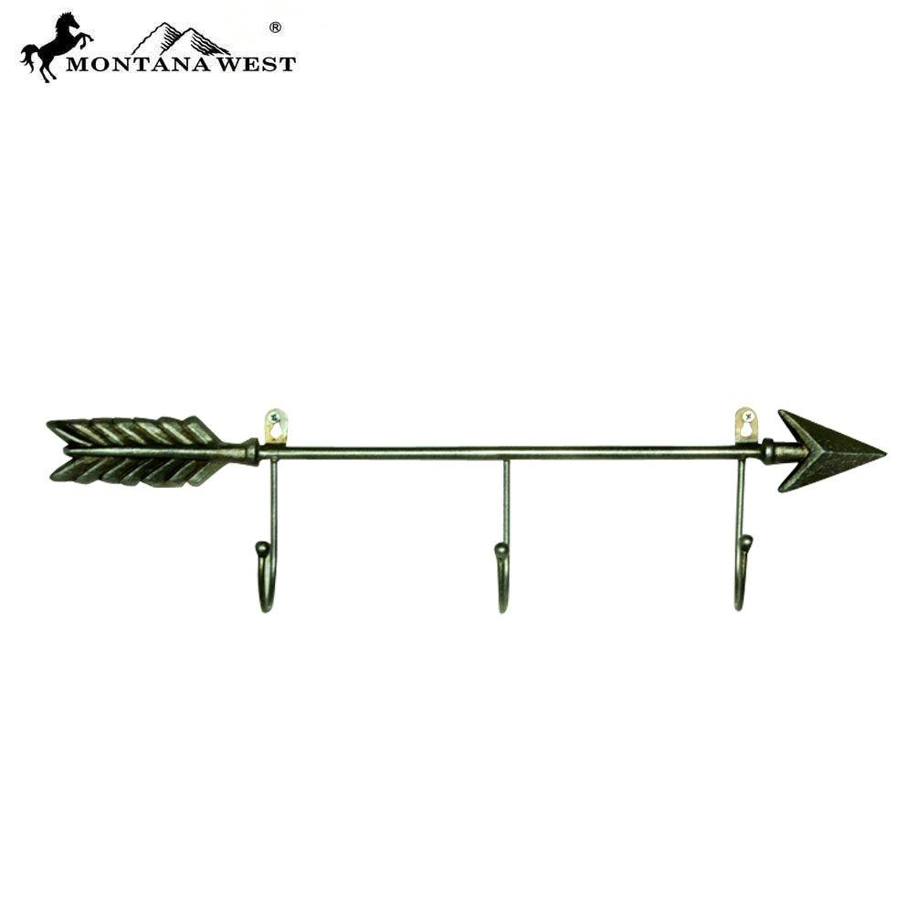 RSM-2063 Montana West Arrow Cast Iron Coat Rack