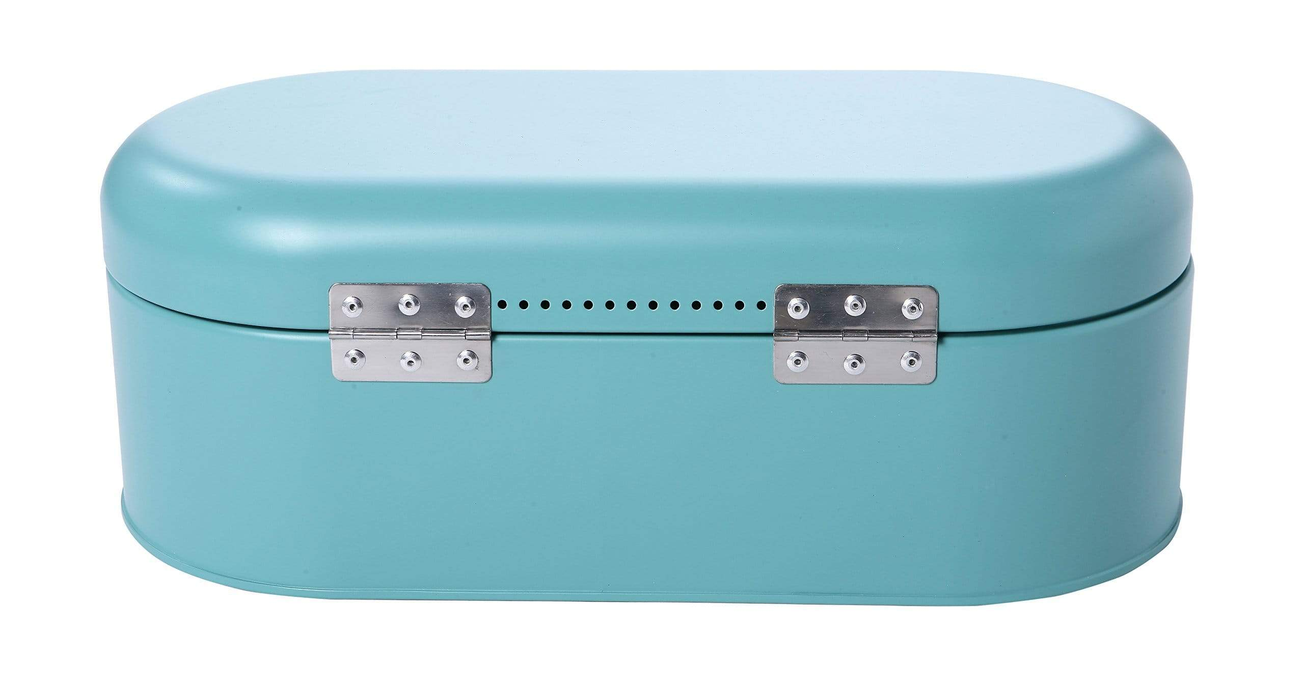 Order now large bread box for kitchen counter bread bin storage container with lid metal vintage retro design for loaves sliced bread pastries teal 17 x 9 x 6 inches
