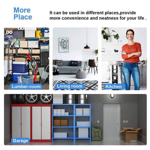 Budget detailorpin changeable assembly floor standing carbon steel storage rack multipurpose shelf display rack for kitchen garage bedroom storage display shelves us stock black