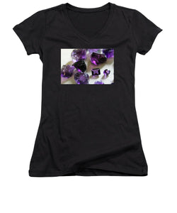 Amethyst  - Women's V-Neck