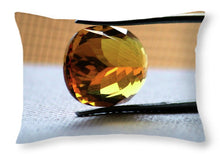 Load image into Gallery viewer, Citrine Reflections  - Throw Pillow