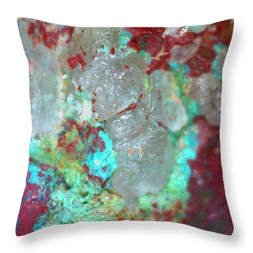 Earth Circus   - Throw Pillow