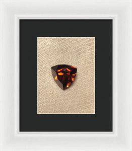 Zircon Shield - Framed Print