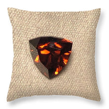 Load image into Gallery viewer, Zircon Shield - Throw Pillow
