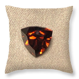 Zircon Shield - Throw Pillow