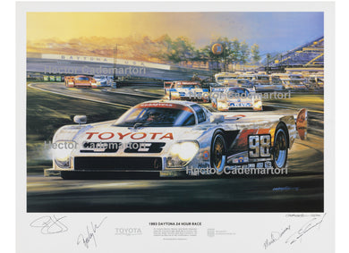 1993 Daytona 24 Hr, All American Racers Eagle-Toyota GTP Limited Edition