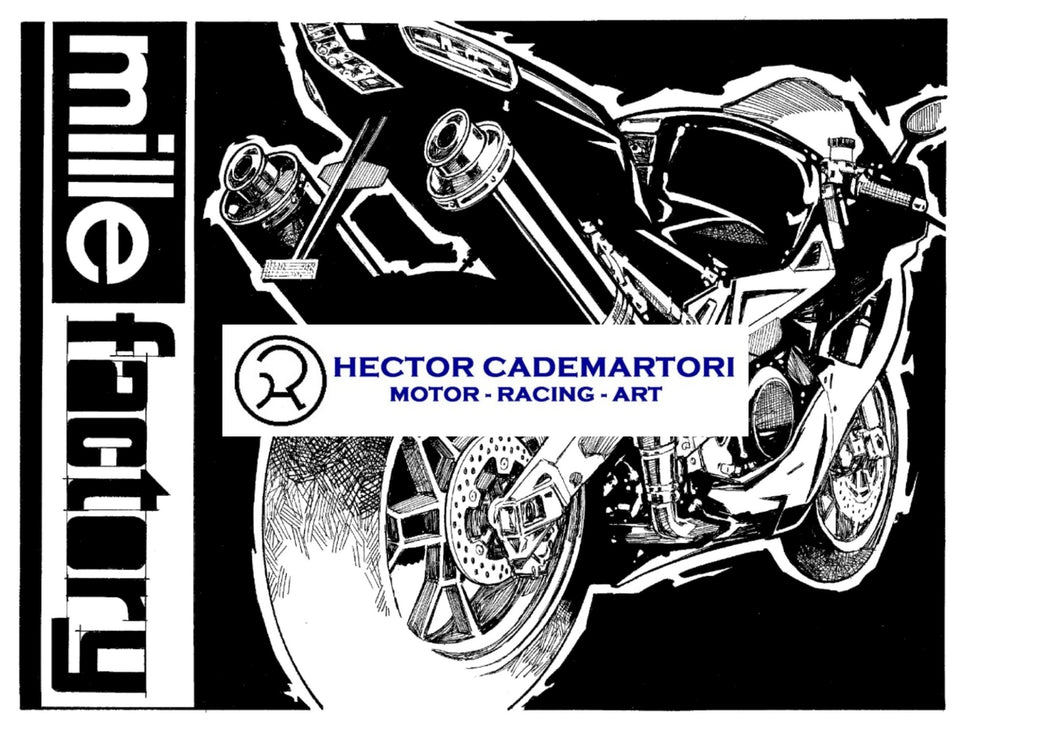 Cycle World Aprilia Mille Factory - Original Art