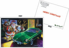 "Load image into Gallery viewer, Datsun Christmas Card- ""Zeason's Greetings"""