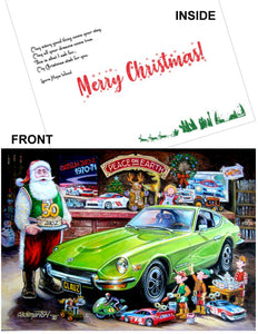 "Datsun Christmas Card- ""Z 50th"""