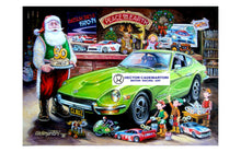 "Load image into Gallery viewer, Datsun Christmas Card- ""Z 50th"""