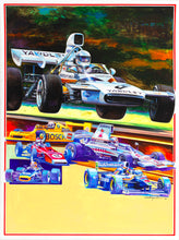 Load image into Gallery viewer, 2014 The Mitty Poster McLaren Original Art