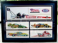 Load image into Gallery viewer, NHRA Champions 2000 Original Art
