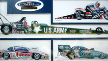 Load image into Gallery viewer, NHRA Champions 2004 Original Art