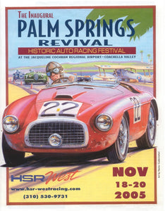 2005 HSR-West - Palm Springs- Ferrari 166 MM