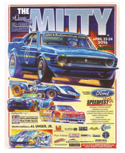 Load image into Gallery viewer, 2016 The Mitty Poster Mustang Original Art