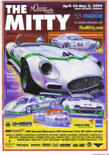 Load image into Gallery viewer, 2009 The Mitty Poster Jaguar Original Art