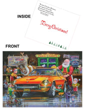 "Load image into Gallery viewer, Datsun Christmas Card- ""Zanta Claus"""