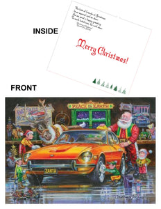 "Datsun Christmas Card- ""Zanta Claus"""