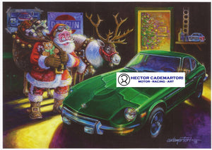 "Datsun Christmas Card- ""Zeason's Greetings"""