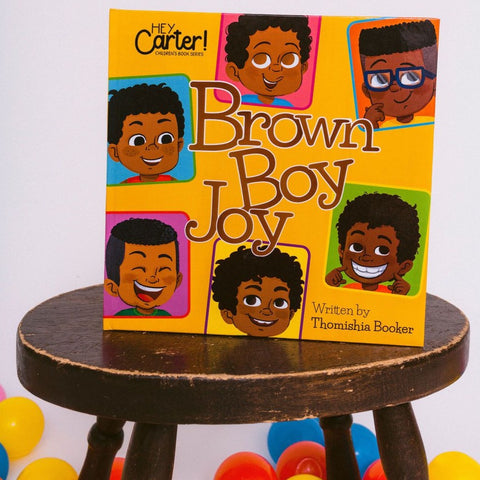 Brown Boy Joy (Hard Cover)