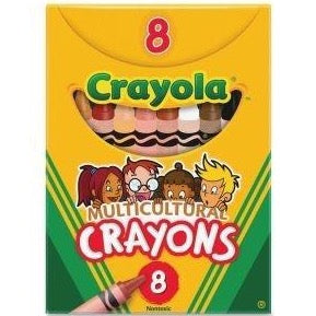 Multicultural Crayon Pack (8)