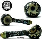 Liberty Glass - Victorian Carved Pipe