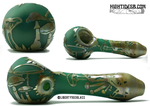 Liberty Glass - Mushroom Carved Pipe