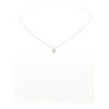 18 ct white gold necklace