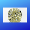 2.02 carats Fancy Light Yellow Cushion Diamond
